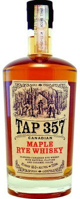 Tap 357 Canadian Maple Rye Whiskey 750ml