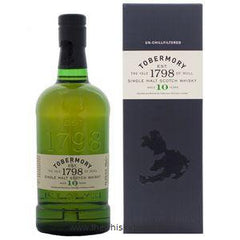 Tobermory 10 Year Old Single Malt Scotch Whisky 750ml