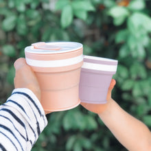 Load image into Gallery viewer, LILAC - Original (SMALL, Holds 270mls) Collapsible Silicon Coffee Cup