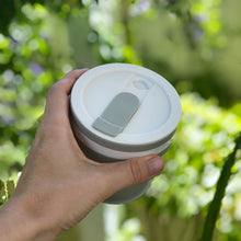 Load image into Gallery viewer, GREY - Original (MEDIUM, Holds 350mls) Collapsible Silicon Coffee Cup