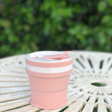 Load image into Gallery viewer, BABY PINK - Original (MEDIUM, Holds 350mls) Collapsible Silicon Coffee Cup
