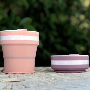 LILAC - Original (MEDIUM, Holds 350mls) Collapsible Silicon Coffee Cup