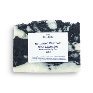 Activated Charcoal with Lavender | Face & Body Bar
