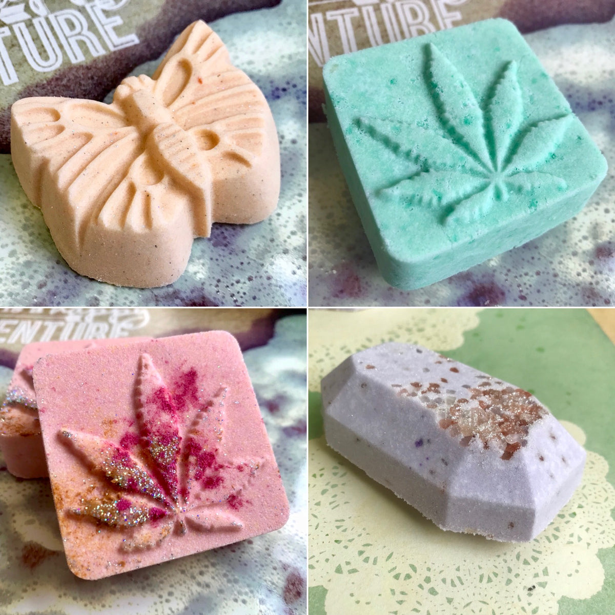 Hemp Butter Bath Bombs