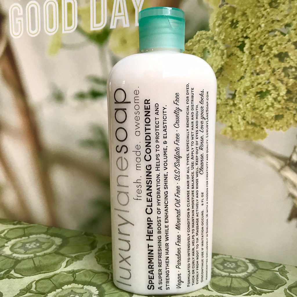 Spearmint Hemp Cleansing Conditioner
