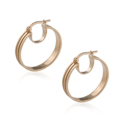 Linea Hoop Earrings