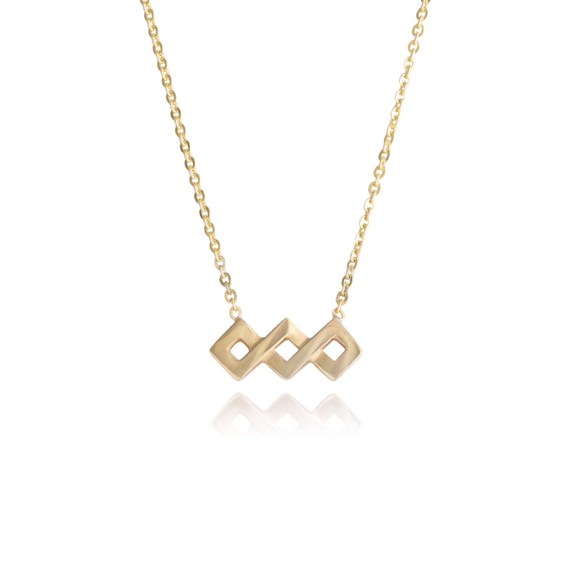 Ternary Square Necklace