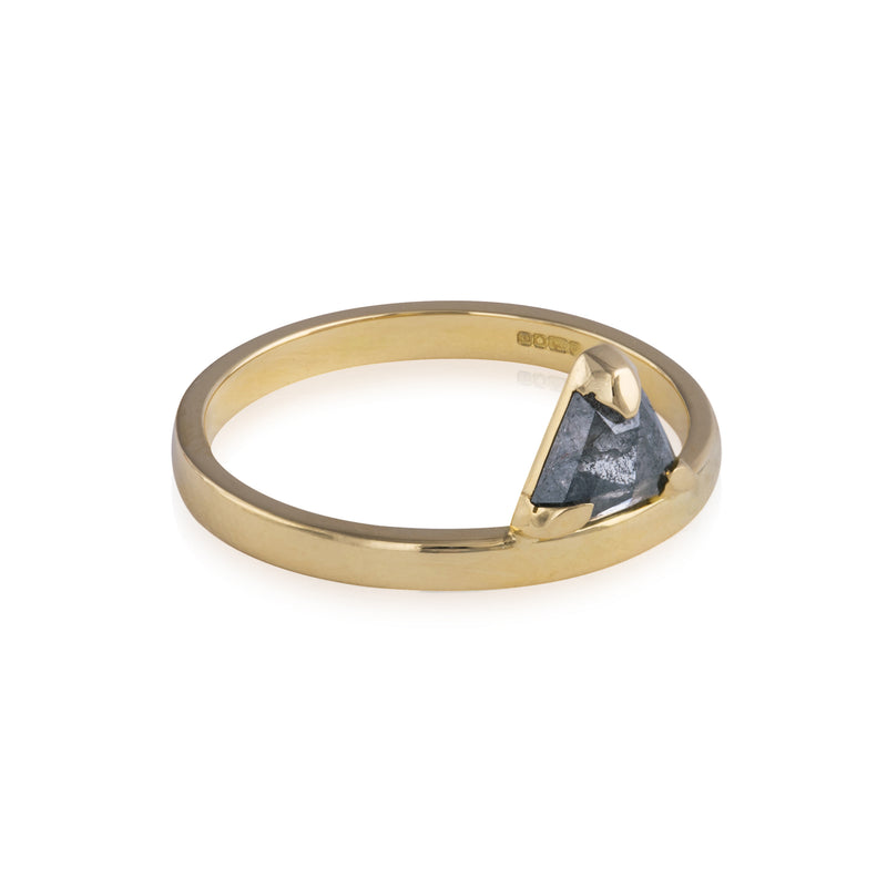 Midnight Diamond Sentinel Ring