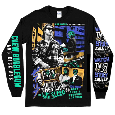 They Live Print Long Sleeve