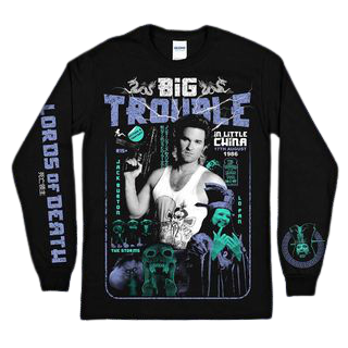 Big Trouble Print Long Sleeve
