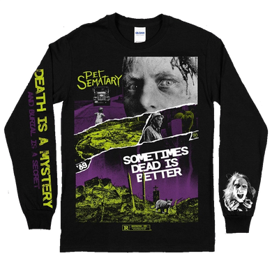 Pet Sematary Print Long Sleeve