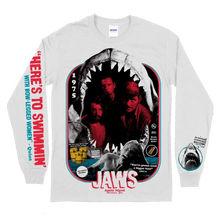 Load image into Gallery viewer, Jaws Print Long Sleeve