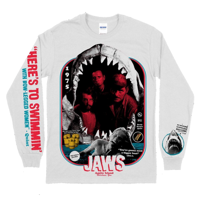 Jaws Print Long Sleeve