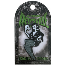 Load image into Gallery viewer, Vampira Enamel Pin