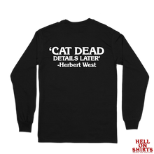 Load image into Gallery viewer, Cat Dead Long Sleeve