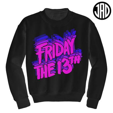 Retro Pink Friday Crewneck
