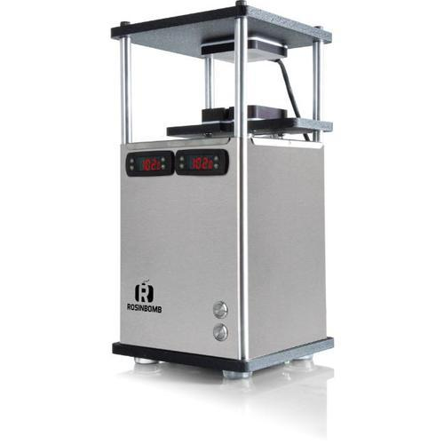 rosinbomb m60 rosin press for home solventless extraction