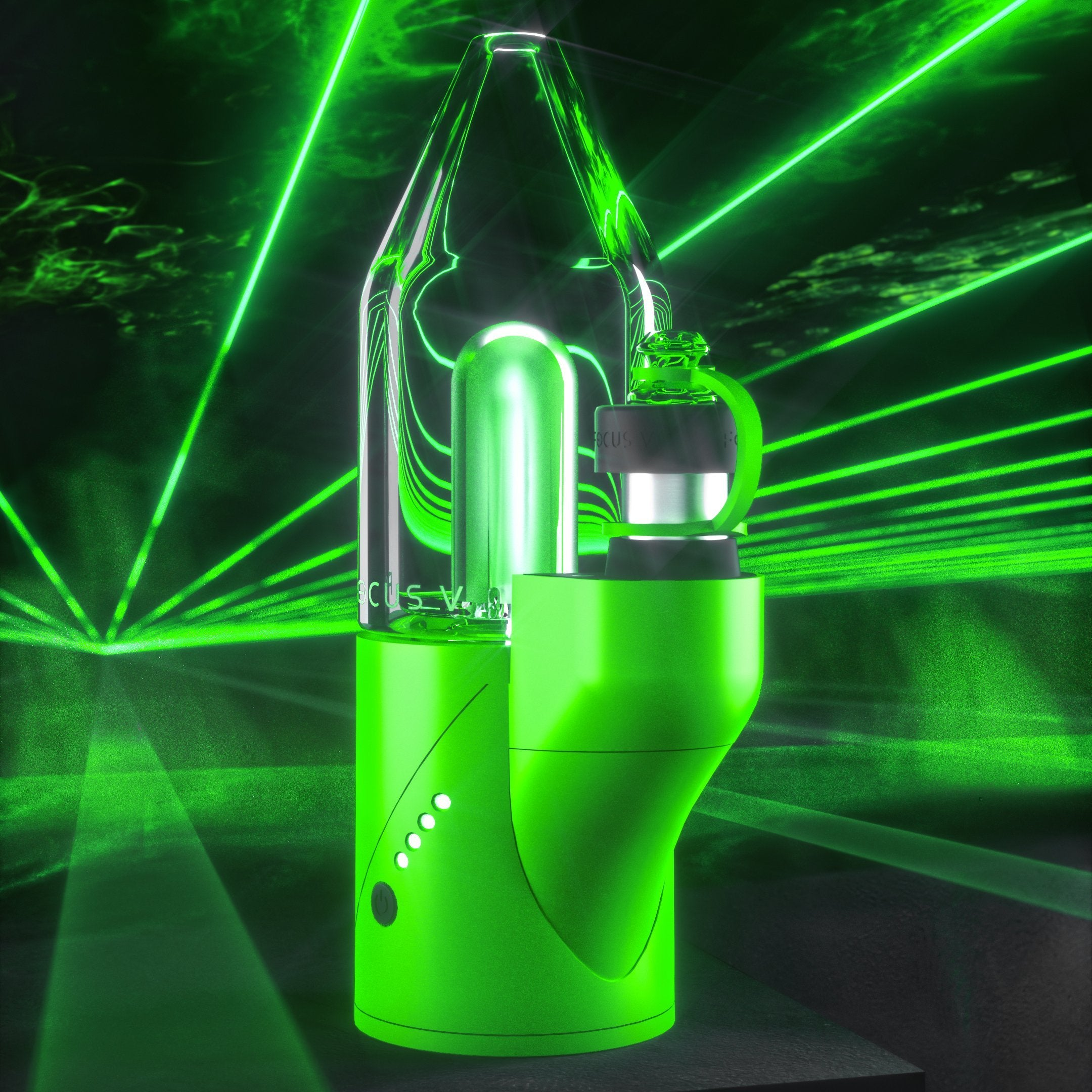 the green was the first of the CARTA laser line to debut