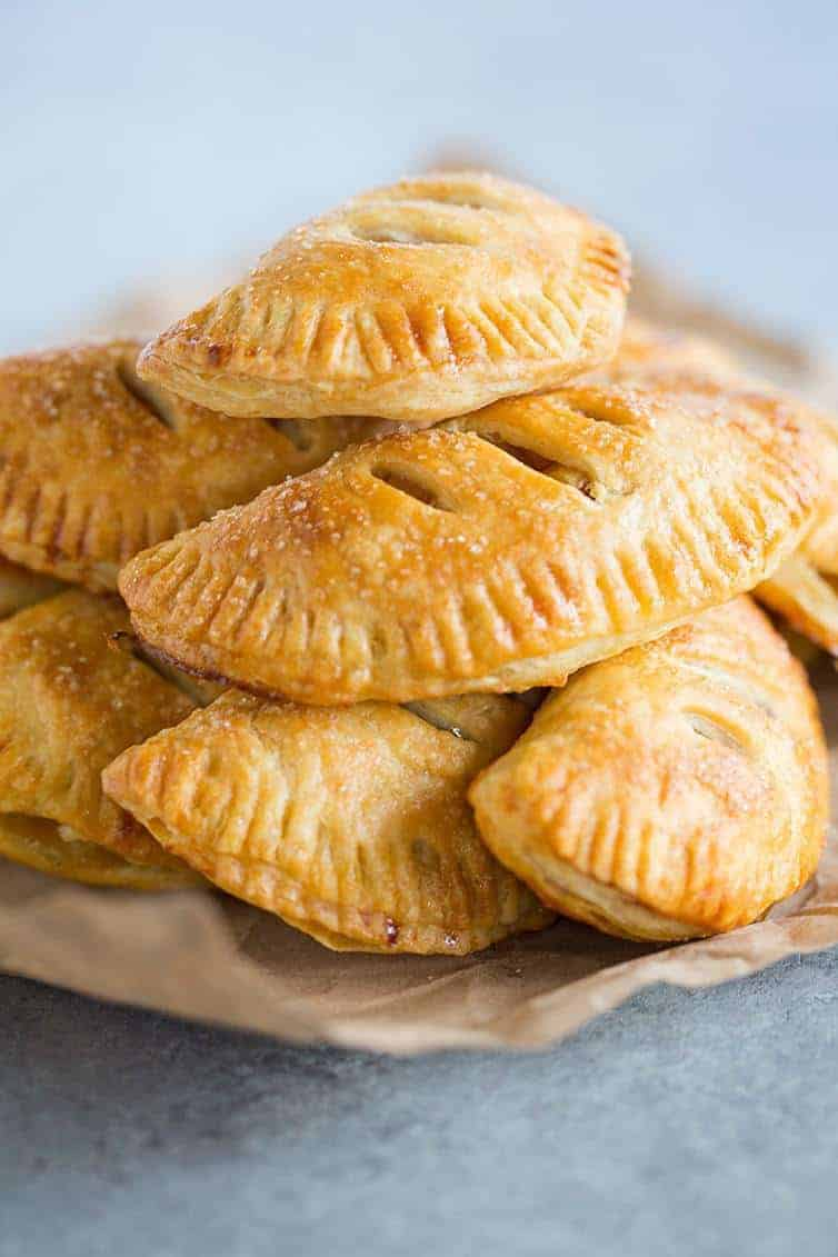infused apple pie pockets with magic butter offer the perfect cap for a comeback cookout