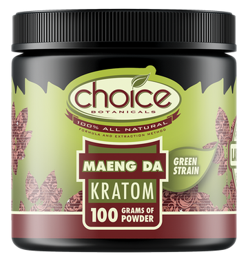 Choice Botanicals Maeng Da Powder – 100 GM Jar