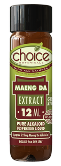 Choice Botanicals Maeng Da Liquid Kratom Extracts - 12 ML