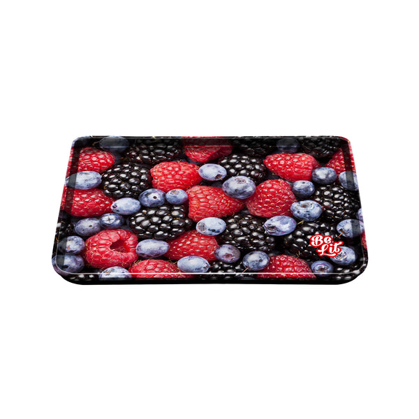 Be Lit Medium Rolling Tray, Mixed Berries