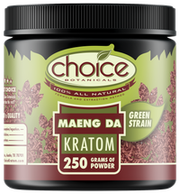 Choice Botanicals Maeng Da Powder – 250 GM Jar