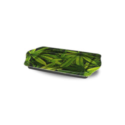 Be Lit Travel Rolling Tray, Leafy