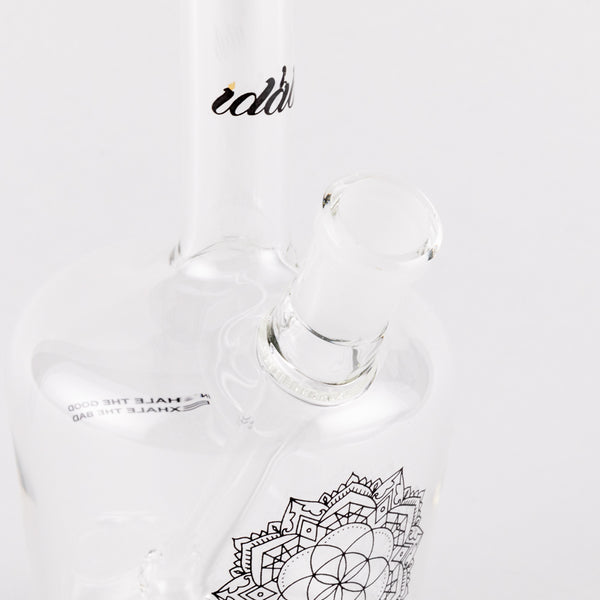 iDab Henny Bottle Oil Rig - Medium(Clear) 14mm