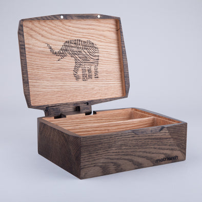 Matriarch Haven Box Premium Wood Stash Box