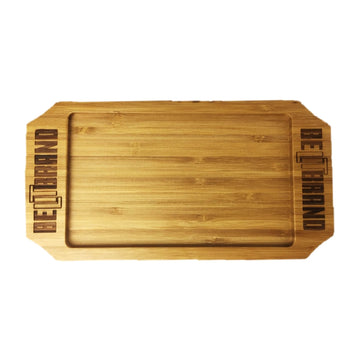 Be Lit Bamboo Rolling Tray, Small