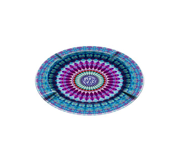 Be Lit Ashtray, Blue Mandala
