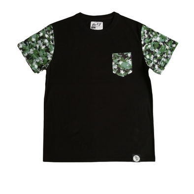 Be Lit Camo Leaf Shirt