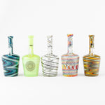 iDab Henny Bottle Oil Rig - Medium Full color (Line Work, UV, CFL) 10mm