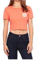Be Lit Coral Crop Top V2, Mandala