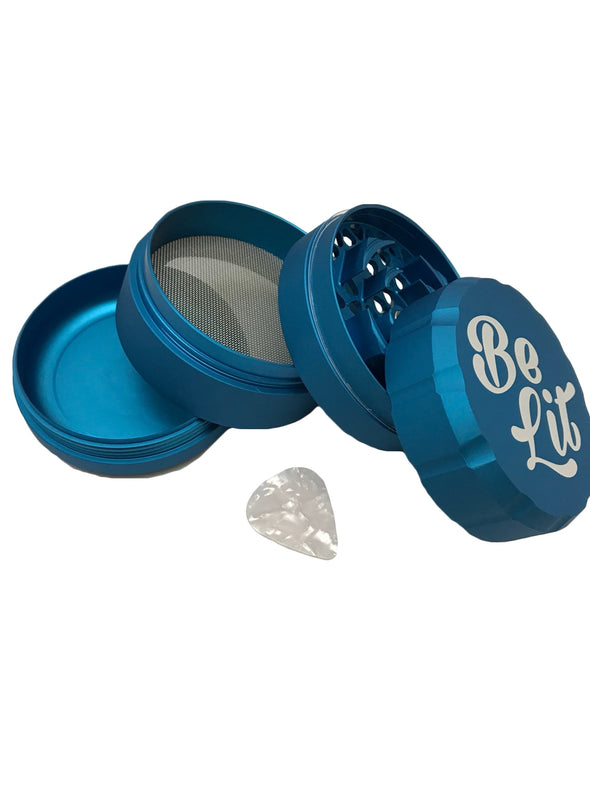 "Be Lit Grinder Large 2.85"" Diameter - Choose from 7 colors"
