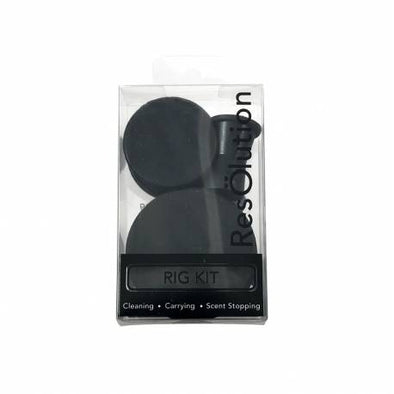 Resolution Rig Cleaning Caps - 10 Pack - Black