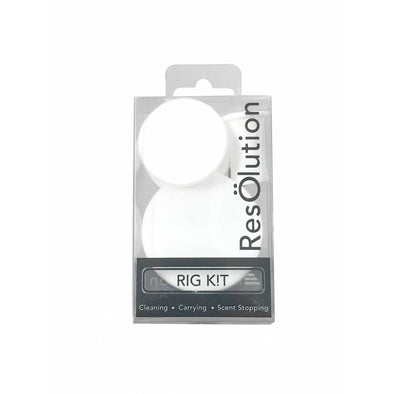 Resolution Rig Cleaning Caps - 10 Pack - White