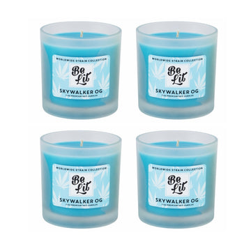 Be Lit Premium Soy Candles, Skywalker OG 4/Pack