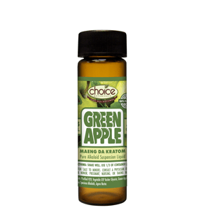 Choice Botanicals Green Apple Maeng Da Liquid Kratom Extract - 15 ML