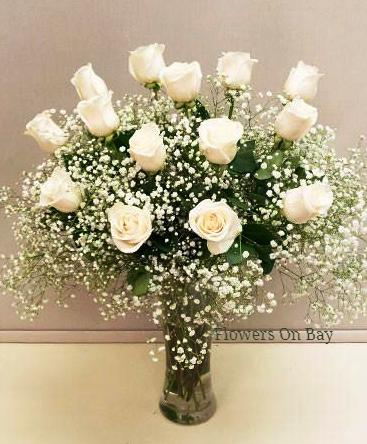 Million Star with White Rose