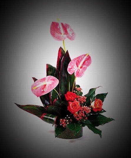 Tropical with Anthurium