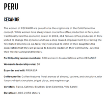 Load image into Gallery viewer, Cafe Femenino Peru - Wandering Goat Coffee