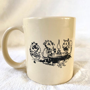 Mug - Friendly Game of Poker - Wandering Goat Coffee