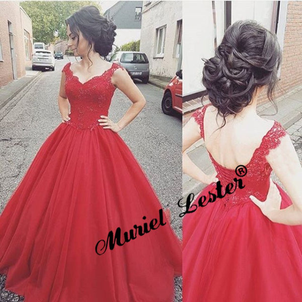 Robe De Mariage Red Wedding Dress Plus Size 2019 Puffy Tulle Appliques Beading Ball Gown Wedding Dresses Trouwjurk Vestido Novia