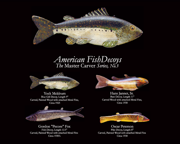 Fish Decoy Note Cards, The Master Series 5, Complete Collection