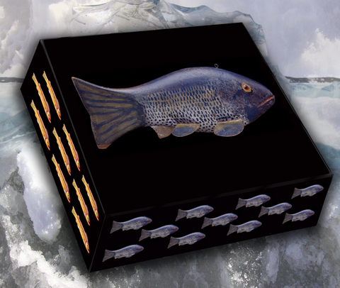American Fish Decoy Note Cards, Master Series 4