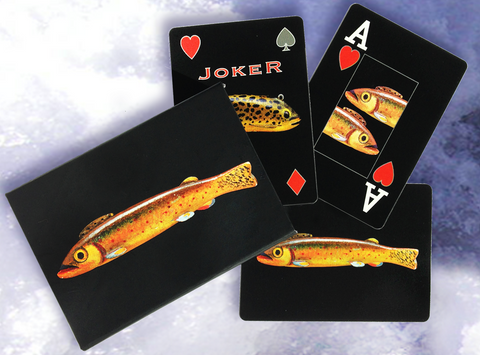 Fish Decoy Playing Cards, Oscar Peterson Deck