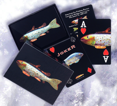 Fish Decoy Playing Cards, Hans Janner Deck