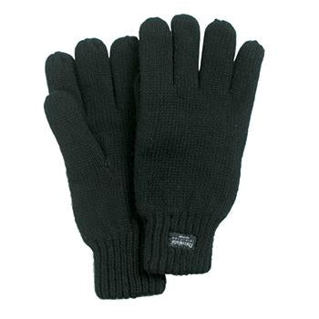 Black Ragg Wool Glove